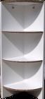 kartonm bel online shop eckregal weiss. Black Bedroom Furniture Sets. Home Design Ideas